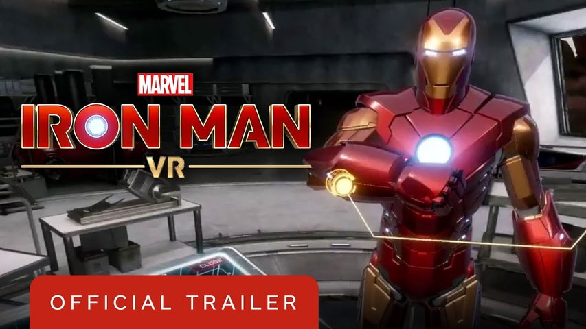 Marvel's Iron Man VR - Official Launch Trailer