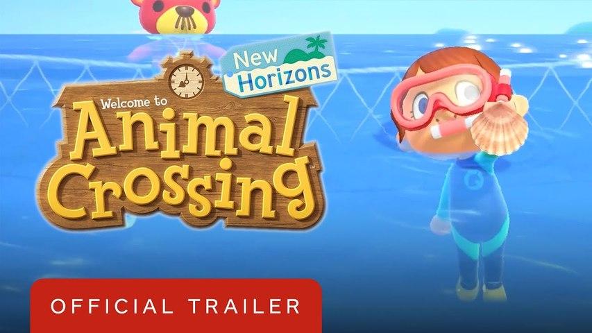 Animal Crossing New Horizons - Free Summer Update Wave 1 Trailer
