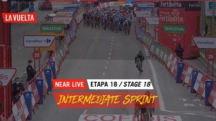Intermediate Sprint / Sprinte Intermédiaire - Étape 18 / Stage 18   La Vuelta 20