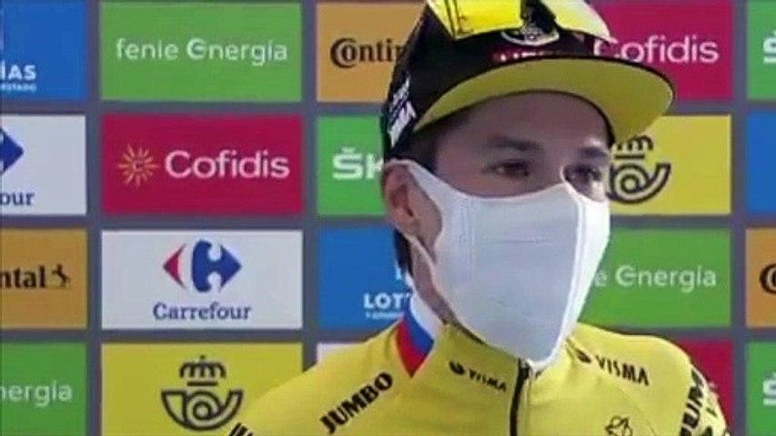 "Tour d'Espagne 2020 - Primoz Roglic : ""I was the best in this Vuelta"""
