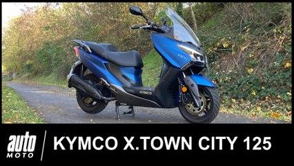Kymco X.Town City 125 Essai POV Auto-Moto.com