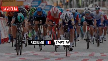 Résumé - Étape 18   La Vuelta 20