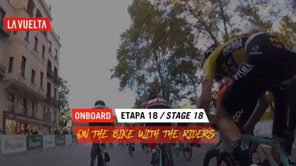Onboard Camera  - Étape 18 / Stage 18   La Vuelta 20