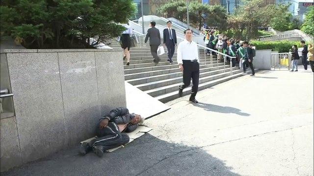 Corée du Sud: La précarité des personnes âgées