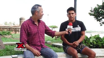 ¡El kiteboarding colombiano Juan Rodriguez cuenta su competencia a Francia!