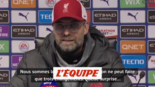 Klopp : « Cinq changements, c'est une nécessité » - Foot - ANG - Liverpool