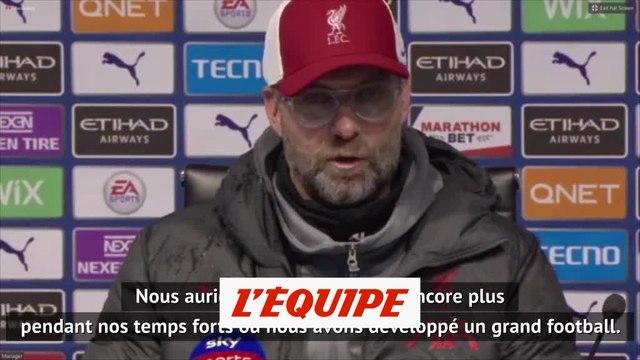 Jürgen Klopp : « Nous n'étions pas à 100 % » - Foot - ANG - Liverpool