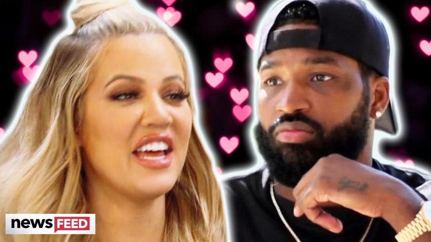 Khloe Kardashian JOKES About Tristan Thompson Cheating Scandal