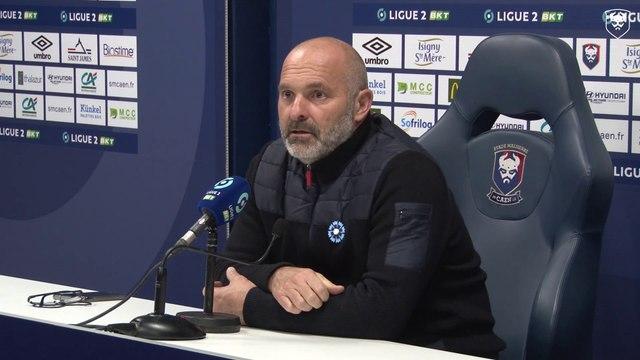 J10 Ligue 2 BKT : Les réactions de P.Dupraz et N.Gioacchini après SMCaen 2-1 AS Nancy