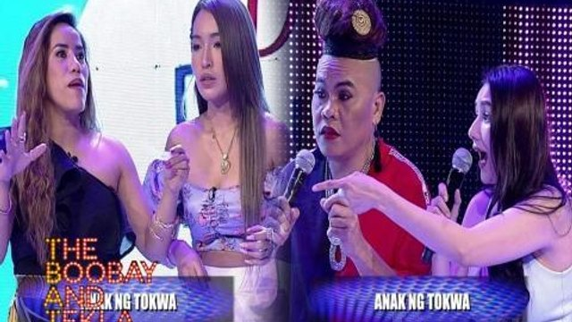 TBATS: Faye Lorenzo at Jelai Andres, nagkampihan sa 'Don't English Me!' | YouLOL