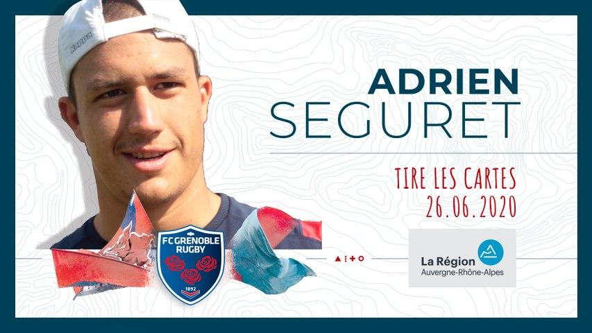 Rugby : Video - Adrien Seguret tire les cartes