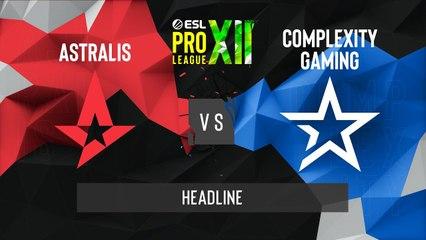 CSGO - Astralis vs. Complexity [Vertigo] Map 1 - ESL Pro League Season 12 - Playoffs - EU