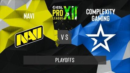 CSGO - Natus Vincere vs. Complexity [Nuke] Map 1 - ESL Pro League Season 12 - Playoffs - EU