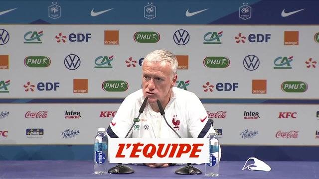 Deschamps : «Fofana fait partie des joueurs que l'on suit» - Foot - Bleus