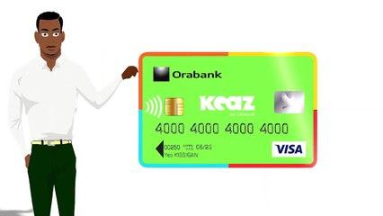 Orabank Togo lance sa Carte Visa KEAZ accessible à tous !