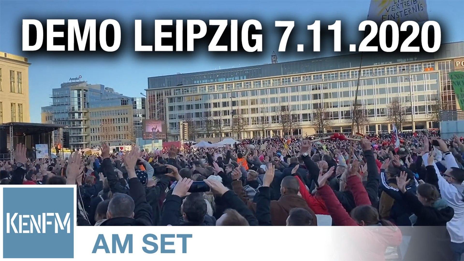KenFM am Set: Demo Leipzig 7.11.2020 - Der Tag in der Zusammenfassung
