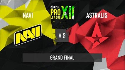 CSGO - Natus Vincere vs. Astralis [Dust2] Map 1 - ESL Pro League Season 12 - Grand Final - EU