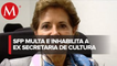 Función Pública multa e inhabilita a secretaria de Cultura de Peña Nieto por daño al erario