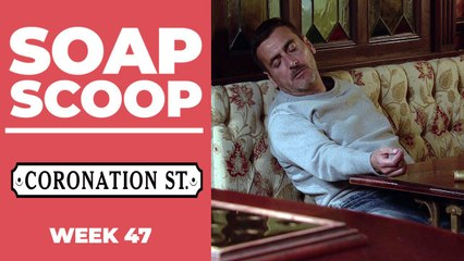 Coronation Street Soap Scoop - Peter suffers a relapse