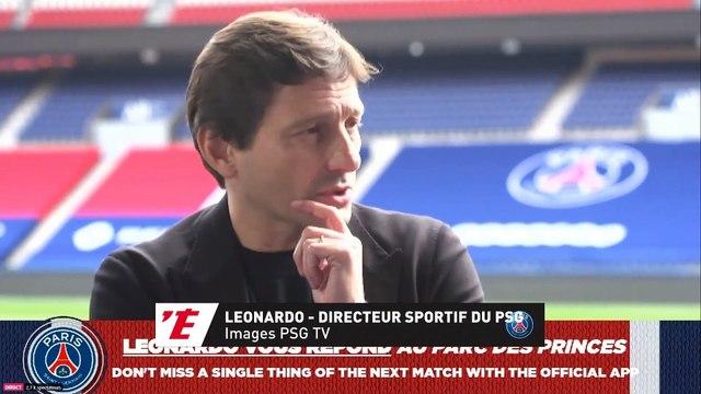 Leonardo : « Le PSG n'a jamais pensé à changer d'entraîneur » - Foot - L1 - PSG