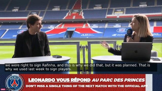 Pour Leonardo, « Marquinhos est un défenseur central » - Foot - L1 - PSG