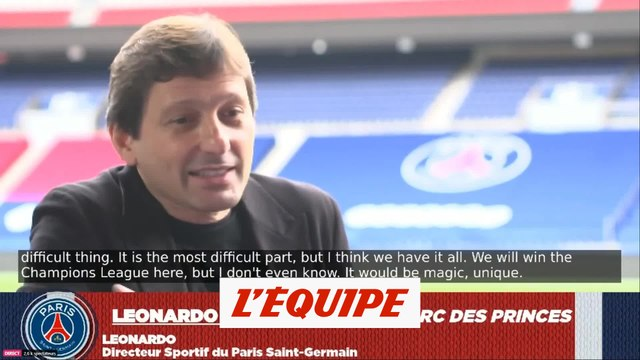 Leonardo : « Paris, ça n'a jamais été exactement la ville du foot » - Foot - L1 - PSG