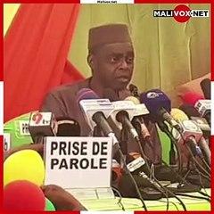 """Que Bah N'Daw arrête de parler, qu'il agisse !"" (Issa Kaou N'Djim, CMAS Mahmoud Dicko) #Mali"