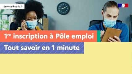 Première inscription à Pôle emploi : tout savoir en 1 min chrono