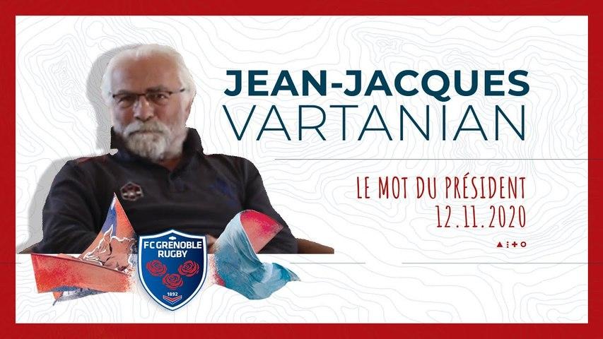 Rugby : Video - Jean-Jacques Vartanian : le mot du président