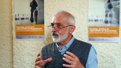 Hantise, justice et réparation au Guatemala: La Llorona de Jayro Bustamante (2019). Gilles Bataillon (EHESS) et Questions du public