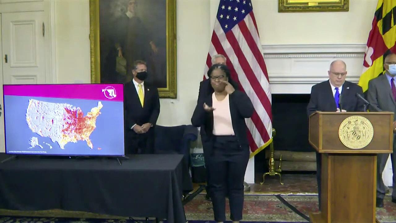 WATCH- Maryland Gov. Hogan holds news conference on coronavirus