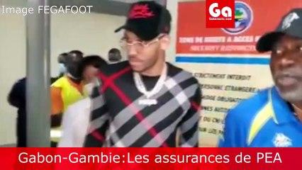Match Gabon - Gambie : Les mots de PEA
