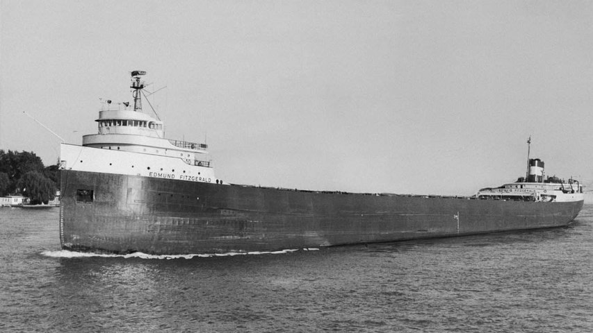 45 years after Edmund Fitzgerald wreck a powerful song these facts