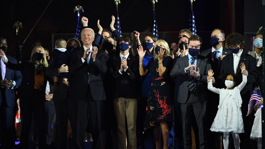 Coldplay's 'Sky Full of Stars' was played at Biden celebration for a very