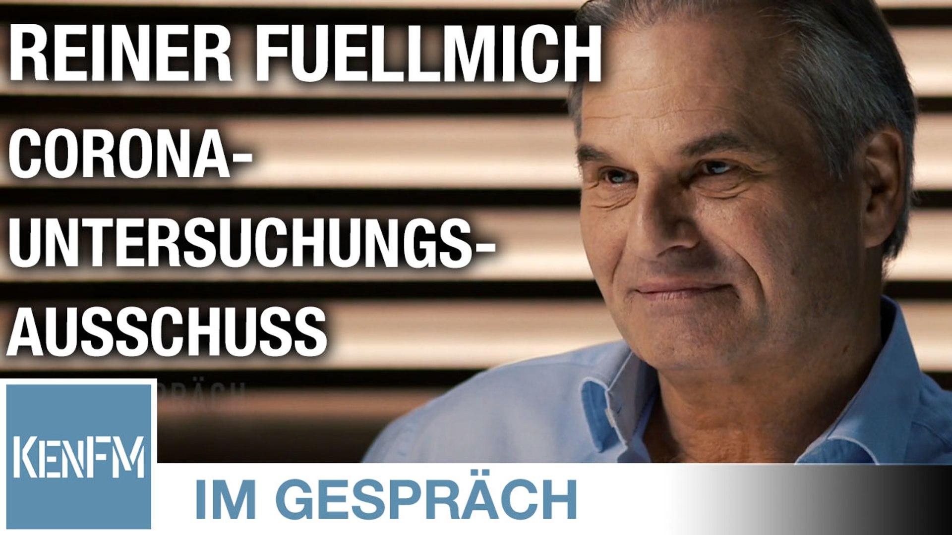 Im Gespräch: Reiner Fuellmich (Corona-Untersuchungsausschuss)