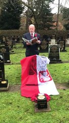 Headstone unveiled for Polish World War Two veteran in Doncaster cemetery