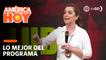 América Hoy: ¡CRISIS POLÍTICA! Melissa Peschiera habló sobre la difícil situación que vive en país