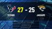 Texans @ Jaguars Game Recap for SUN, NOV 08 - 02:00 PM ET EST