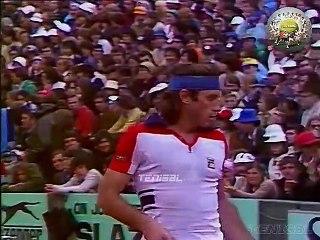 Guillermo Vilas vs Brian Gottfried 1977-roland-garros-final