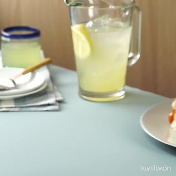 Layered Shrimp Sandwich