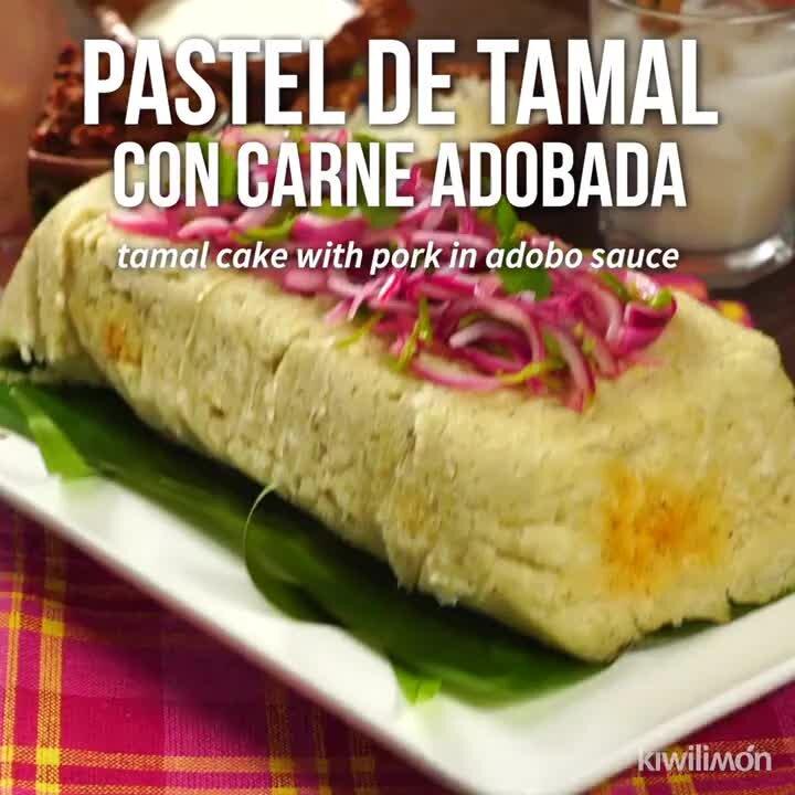 Pastel de Tamal con Carne Adobada