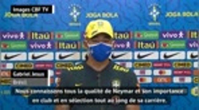 """Brésil - Jesus : """"La qualité et la personnalité de Neymar nous manquent"""""""