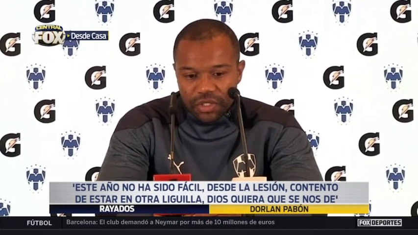 """Este año no ha sido fácil"", Dorlan Pabón: Liga MX"
