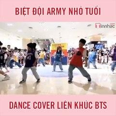Biệt đội ARMY nhỏ tuổi dance cover liên khúc BTS