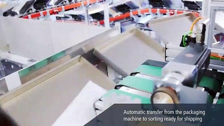 La suiza 'Ferag' automatiza el proceso de envío de los productos de oftalmológicos 'ZEISS'
