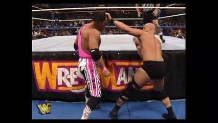 Stone Cold Steve Austin vs Bret Hart - Wrestlemania 13