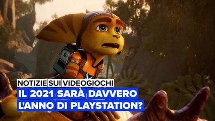 Notizie sui videogiochi: Il 2021 sarà davvero l'anno di Playstation?