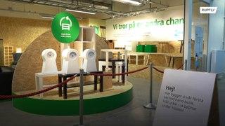 السويد: متجر لبيع المفروشات المستعملة!!
