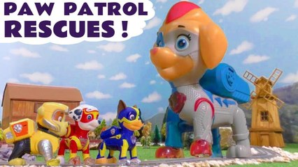 Paw Patrol Mighty Pups Rescues with Thomas and Friends Marvel Avengers and the Funny Funlings in these Family Friendly Full Episode English Toy Story Videos for kids from Kid Friendly Family Channel Toy Trains 4U