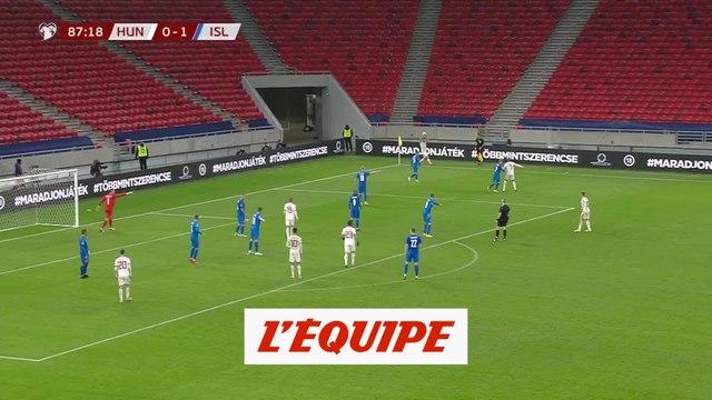Les buts de Hongrie-Islande - Foot - Barrage Euro